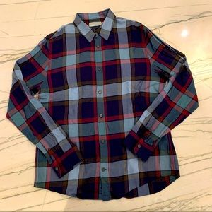 Vince long sleeve button down